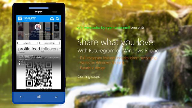 Futuregram - a new, futuristic Instagram client - Windows Central Forums