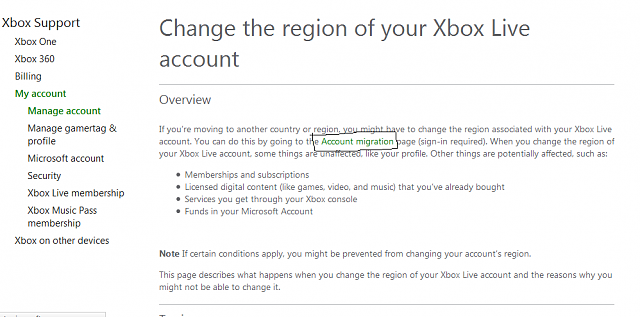how to change parent account on xbox