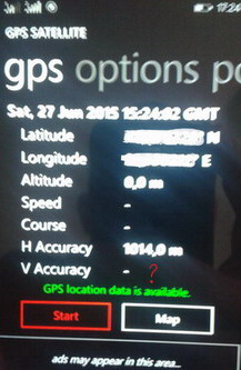 localisation gps windows phone