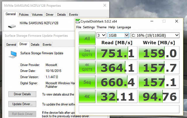 NVMe SSD very slow write speeds  - Windows Central Forums