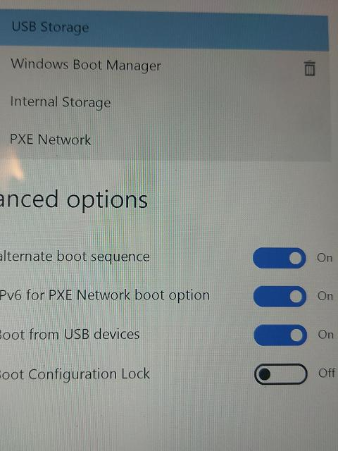 windows surface pro 4 boot from usb