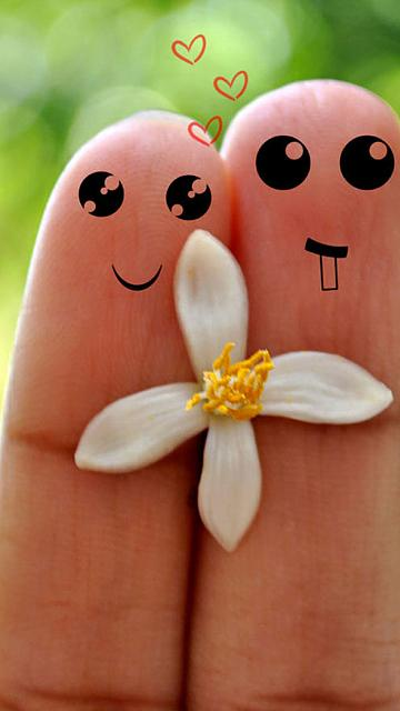 cute-love-cartoon-couple-fingers-iphone-6-wallpaper-ilikewallpaper_com.jpg