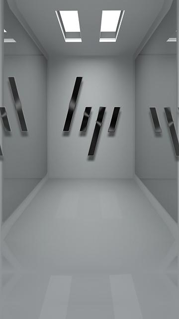 hp_new_metal_logo_minimalistic_mirror_room_3d.jpg