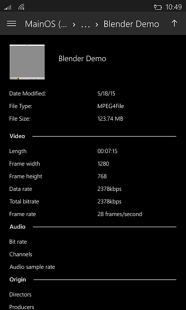 Access C: root of Windows 10 Mobile from File Explorer