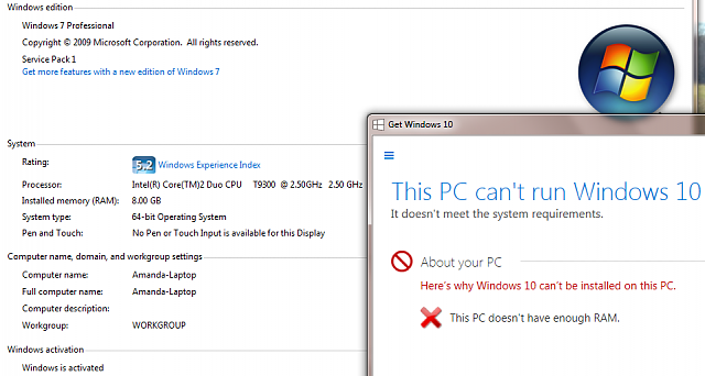 Windows 10 This Pc Doesn T Have Enough Ram Windows