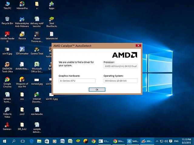 amd graphics driver for microsoft windows 10