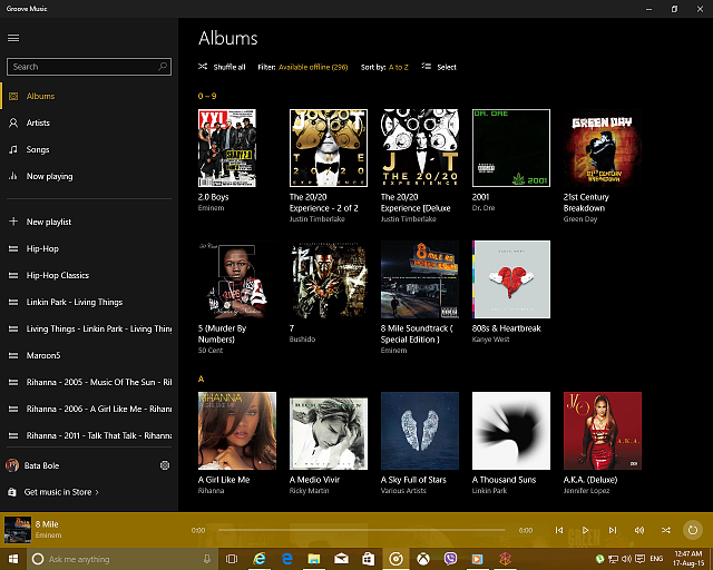 Groove Music Vs Zune Windows Central Forums