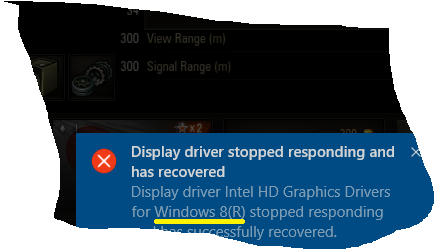Windows 10 Graphics Driver Issues