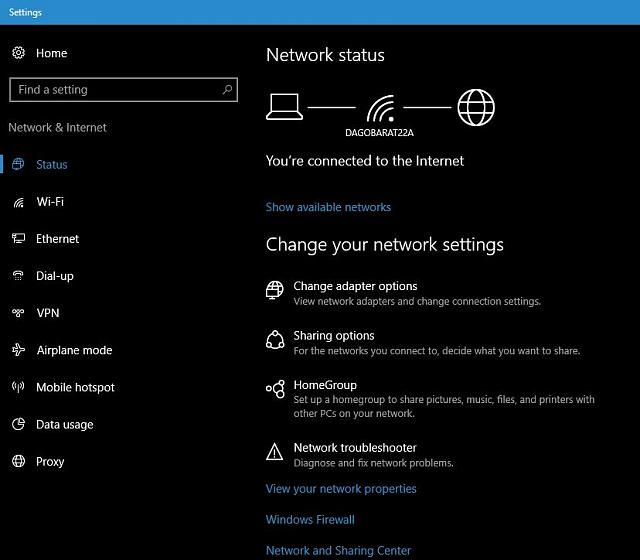 how to make laptop a hotspot windows 10