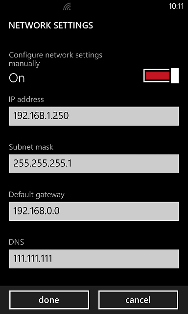 Changing Dns Servers In Wifi Settings In Wp8 1 Windows