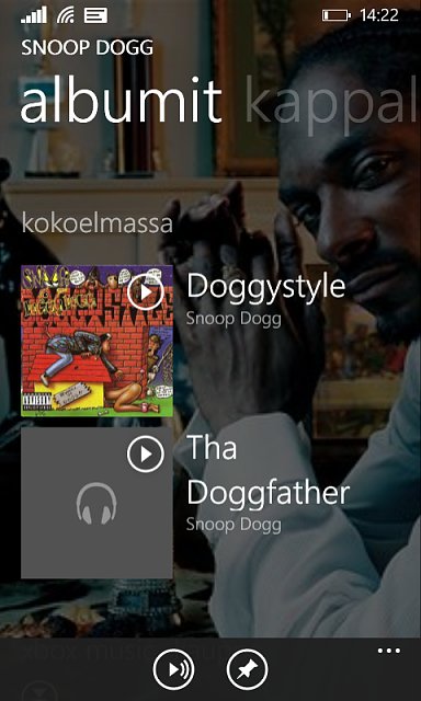 Xbox Music app not showing all album covers - Windows