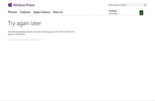 windows phone purchase history not working