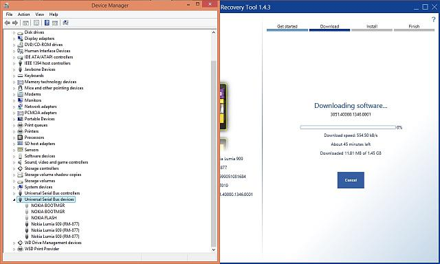 Nokia Software Recovery Tool Not Detecting Phone - Windows