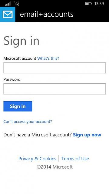 how to delete microsoft account on windows phone