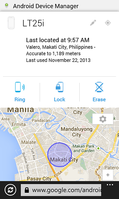 how to find my windows phone location