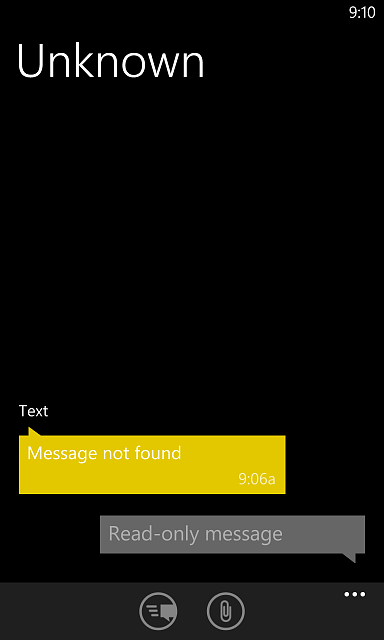 Sms Message From Unknown Windows Central Forums