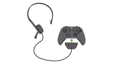 How do i use the headphones that came with my xbox one windows if you have the former than 1st generation xbox one chat headset will suffice ccuart Images
